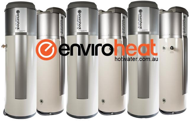 Enviroheat heat pump hot water systems Brisbane and Sunshine coast