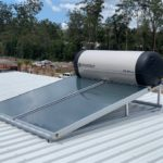 Envirosun solar hot water plonk for the Sydney Roonsleigh builders
